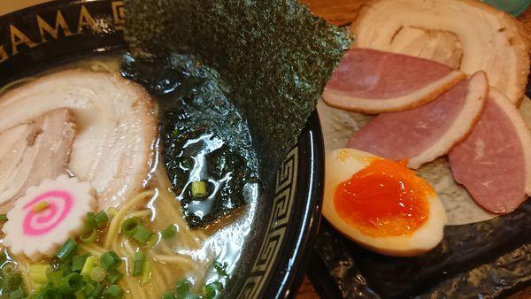「塩ラーメン」@ら~めん紅釜の写真