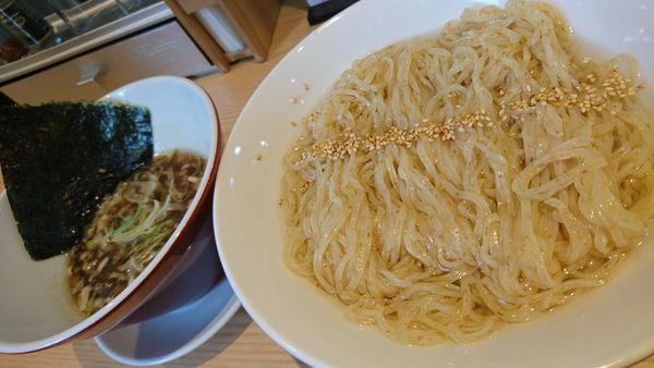 「昆布つけ麺、大盛」@初代葱寅 御茶ノ水店の写真