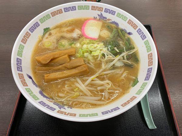 「俺の信州味噌ラーメン 780円」@梓川サービスエリア 上りの写真