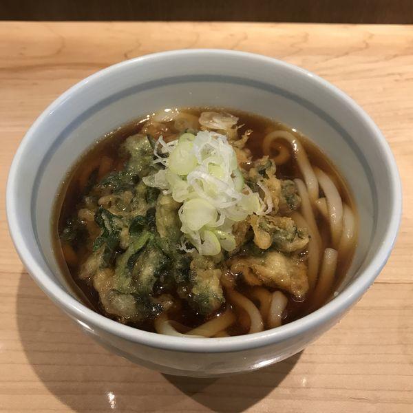 「春菊天(¥430)」@石臼挽き蕎麦 とよじの写真