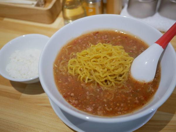 「特製タンタン麺 辛さトリプル+サービスライス」@小田原タンタン麵たかみの写真