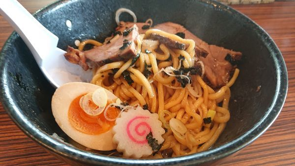 「味玉響油そば」@麺屋渡来人外伝 麺屋饗者 ~KYOUJA~の写真