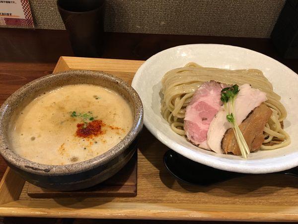 「伊勢海老つけ麺」@麺家 半蔵の写真