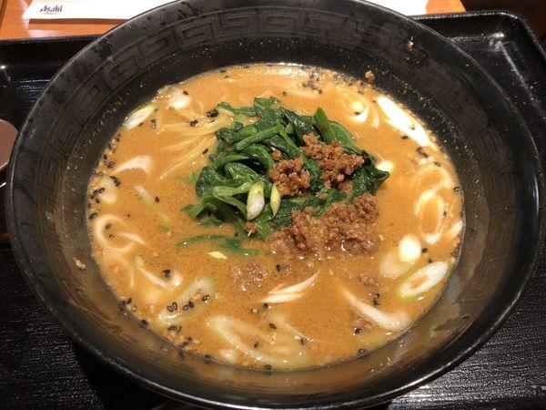「白胡麻担々麺」@中国酒家朝陽閣 天満橋店の写真