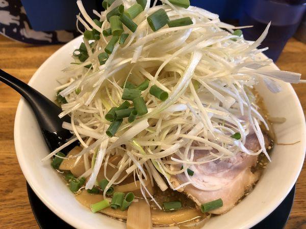 「ネギ塩ラーメン(大盛)」@麺屋てんきの写真