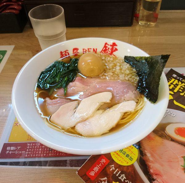 「味玉鶏清湯ラーメン」@麺屋 錬の写真