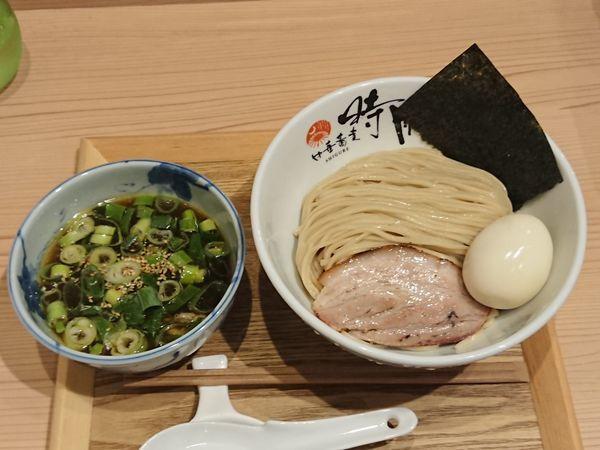 「ホロホロ南蛮キジつけ蕎麦+出汁玉子」@中華蕎麦 時雨の写真