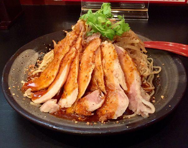 「【限定】阿波尾鶏のよだれ冷し(パクチー少なめ)」@房総式ラーメン JINRIKISENの写真