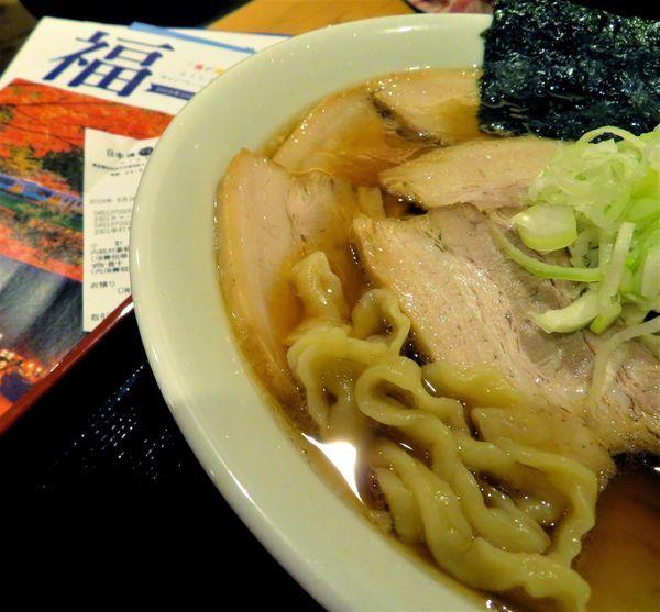 「【うえんで食堂】チャーシューメン極太手打ち麺(1,000円)」@日本橋ふくしま館 MIDETTE ミデッテの写真