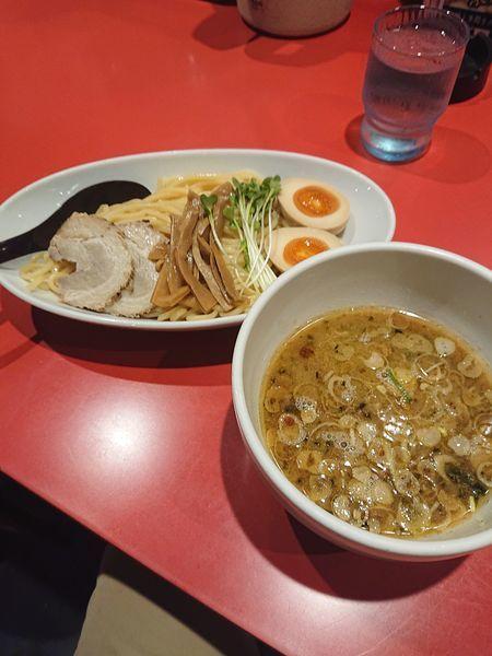 「つけ麺 730円」@つけめん工房 浅草製麺所の写真