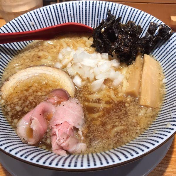 「背脂醤油らー麺」@焼きあご塩らー麺 たかはしの写真