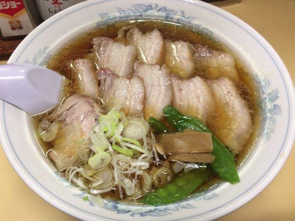 「チャーシュー麺+しゅうまい1個」@幸軒の写真