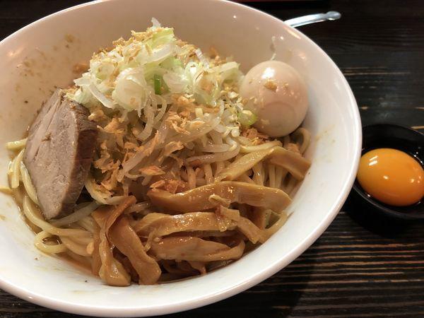 「まぜそば大 味玉」@麺屋 和利道 waritoの写真
