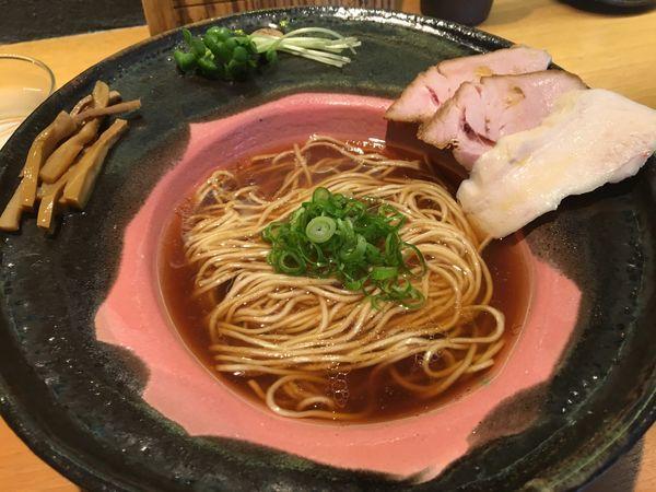 「メロウ 醤油拉麺」@拉麺 成の写真