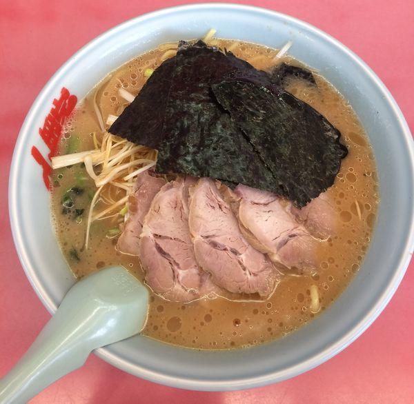 「醤油ネギチャーシュー麺 大盛」@ラーメン山岡家 高崎西店の写真