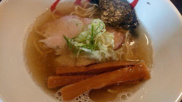 「塩ラーメン」@燵家製麺の写真