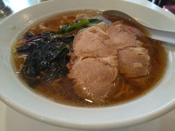 「#チャーシューメン #半炒飯丼 #700円」@陽華飯店の写真