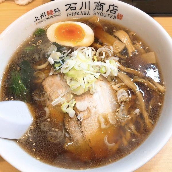 「オープン限定ラーメン (正油) ¥500」@上州麵処 石川商店の写真