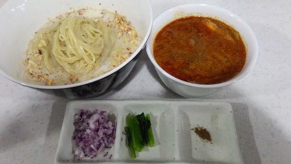 「[限定]担々つけ麺」@ラーメン星印の写真