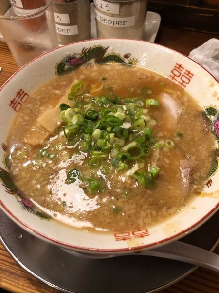 「中華そば」@ますたに 京都駅ビル拉麺小路店の写真