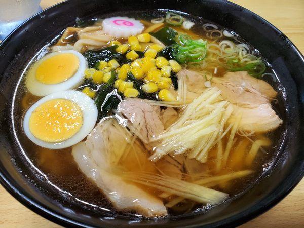 「元祖蔵ラーメン750円醤油」@桜井食堂の写真