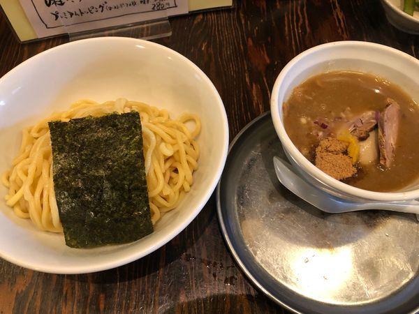 「魚介つけ麺」@中華そば あおいの写真