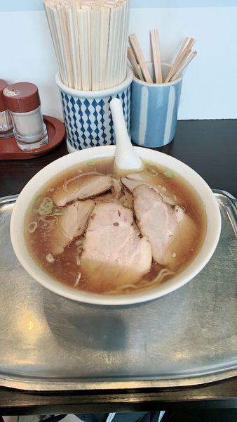 「チャーシュー麺中盛」@ラーメン専門の店 大勝の写真