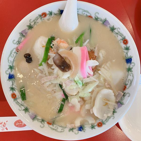 「特製什景湯麺(王さんの特上ちゃんぽん)」@江山楼 中華街本店の写真