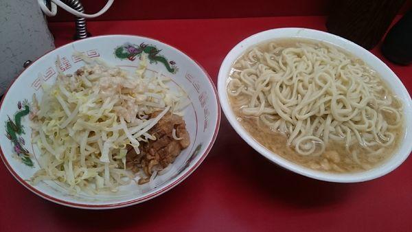 「麺増し・大(ヤサイアブラ)¥830」@ラーメン二郎 京急川崎店の写真