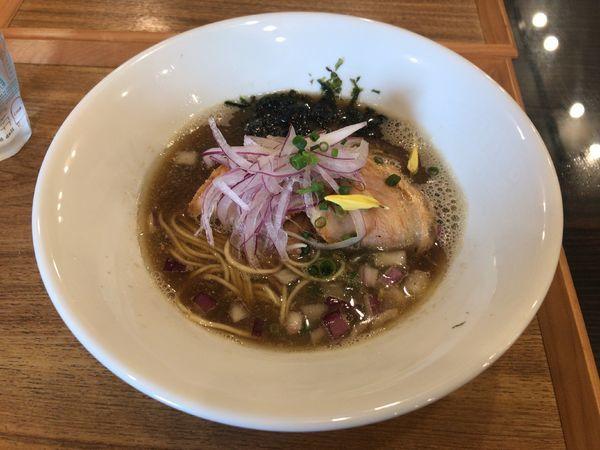 「金煮干そば」@麺's キッチン RIRIの写真