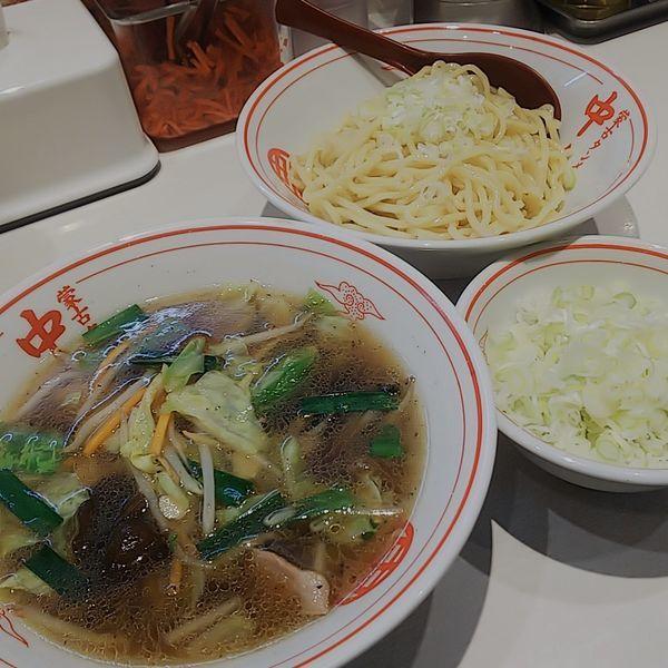 「冷やし醤油タンメン+ネギ」@蒙古タンメン中本 秋津店の写真