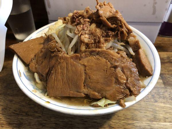 「ミニらーめん+豚」@らーめん梵's BONES北浦和本店の写真