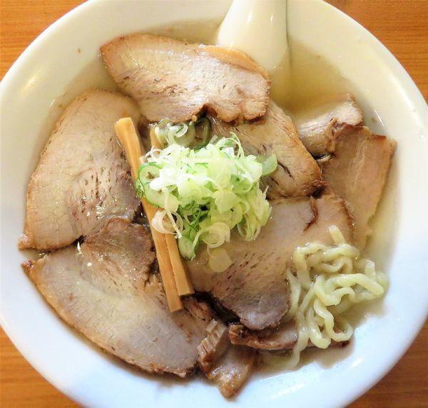 「會津山塩チャーシュー(950円)」@うえんで食堂の写真