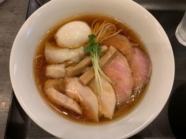 「特製鶏そば1250円、ミニロースト豚丼200円」@らぁ麺 やまぐちの写真