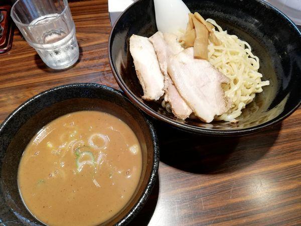 「魚介つけ麺(1.5玉)」@ラーメン長山の写真