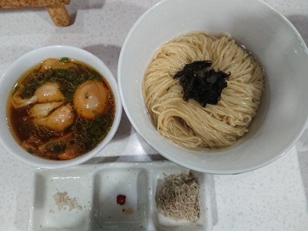 「特製醤油つけ麺」@ラーメン星印の写真