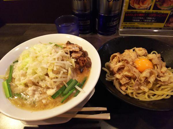 「つけ麺(夏期限定)」@ガツ盛りラーメン バンブル 西浦和店の写真