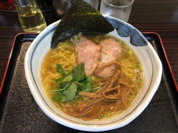 「中華そば 750円 +麺大もり100円」@中華そば 一富士の写真