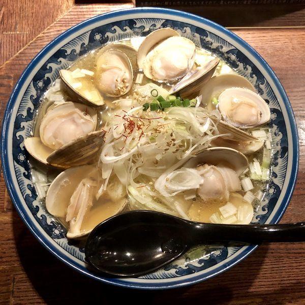 「はまぐりラーメン ¥980」@和風楽麺 四代目 ひのでやの写真