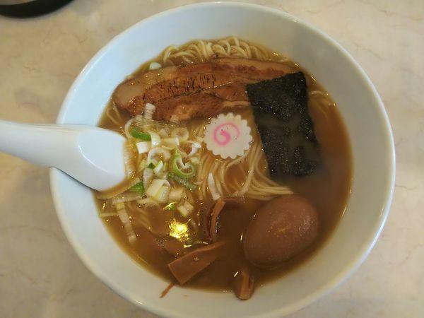 「バカうまラーメン(中)(¥750)」@Hananoki@Plusの写真