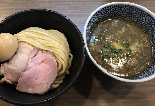 「味玉極濃厚煮干しつけ麺」@煮干しつけ麺 宮元の写真