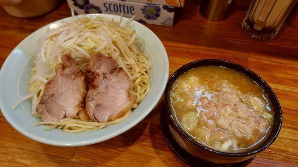 「つけ麺 全増し(840円)」@ラーメン 盛太郎 小川町店の写真