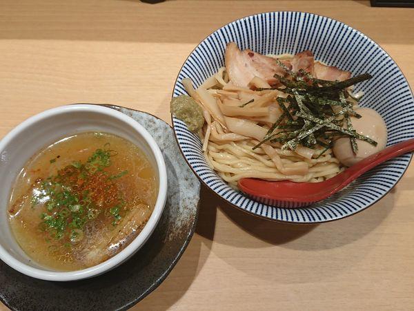 「特製塩つけ麺」@塩つけ麺 灯花の写真
