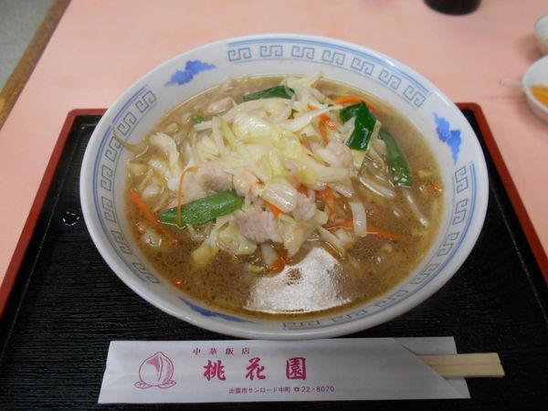 「チャンポン麺」@桃花園の写真
