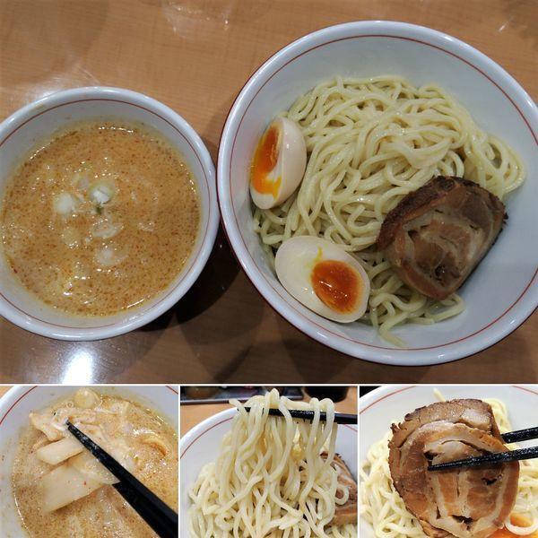 「味噌つけ麺(中)+味玉=900円」@らーめん つけ麺 たか虎の写真
