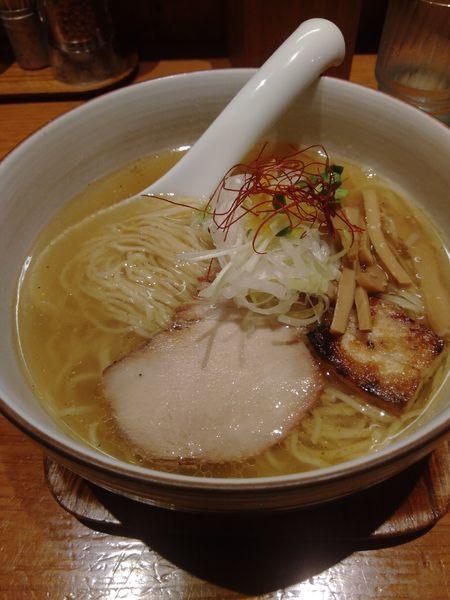 「和塩らぁ麺」@麺や ひだまりの写真