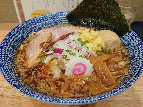 「特製 にぼ助ラーメン(サービス大盛り)」@厳選煮干ラーメン 初代 にぼ助の写真