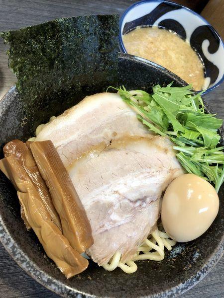 「【夜営業限定】濃厚煮干しつけ麺 中盛 ¥950」@ラーメンつけ麺 奔放の写真