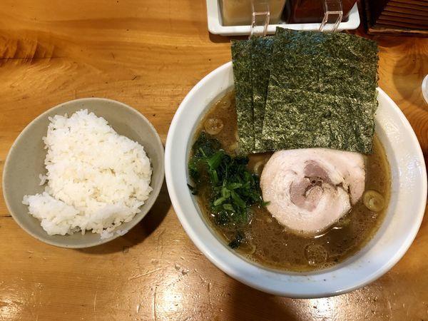 「ラーメンライス ¥750」@黒王の写真
