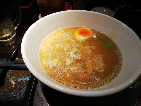 「とんがらパーコー麺」@○宿めんてんてんの写真
